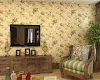 Beibehang Retro American Village Wall Paper Nonwovens Pastoral Living Room Sofa TV Background Walls Papel De