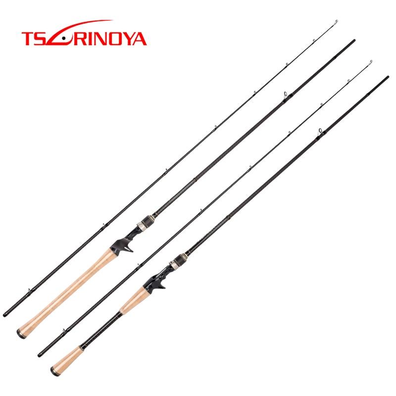 TSURINOYA PROFLEX II 702MHC 2 1m Casting Fishing Rod 2 Section MH Power Lure Fishing Rod