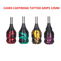 Camo Grips EZ Twist Rings Aluminum Tattoo Grip 6 5 32mm Adjustable For Permanent Makeup Tattoo