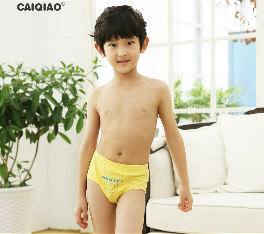 Caiqiao Brand High Quality Underwear Baby Kids Pants Boys