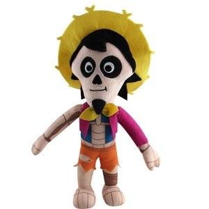 30 cm Disney Film COCO Pixar Plüsch Puppe Spielzeug Tag der Miguel Hector Dante Hund Tod Pepita Gefüllte Weiche plüsch Spielzeug Kinder