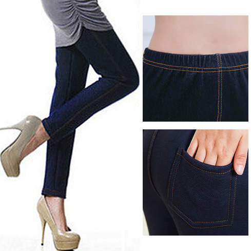 Classic High Waisted Jeans Leggings