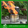 New Design Hot Sell Portable Stainless Steel Light Weight Durable And Compact Cooking Stove