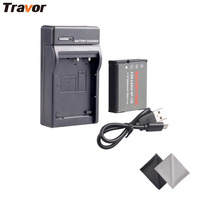 NP 130 Battery And Ultra Slim Micro USB Charger Kit For Casio Exilim EX H30 ZR100