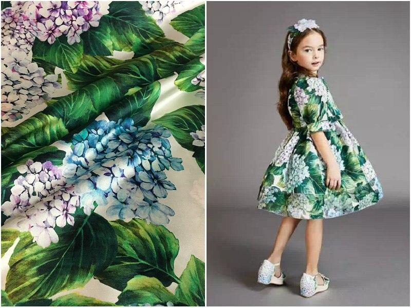 Tissu de satin de soie extensible de fleur de 19mm pour la chemise de robe cheongsam 108 cm de large tissu de soie de marque en gros