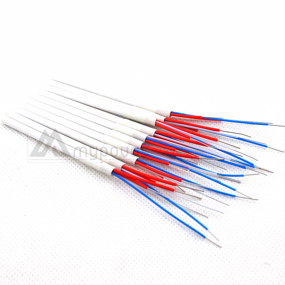 10pcs/set Soldering Station Replacement Heating Element Ceramic Heater 24V 50W A1322 For 852D+ 909D 936 Soldering Accessory