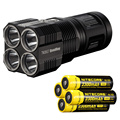 NITECORE TM26GT Tiny Monster 704M Beam Distance OLED Display 3500Lumen LED Searchlight Flashlight+4*NL183(2300mah) Free shipping