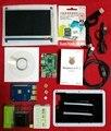 Elecrow Ordenador Raspberry Pi 3 Súper Integrado Kit 7 pulgadas Táctil pantalla con Disipador de Calor 16G Tarjeta SD para Linux Arrancadores