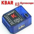 Пульт дистанционного Управления Части Рдц Регистрация бесплатная доставка КБАР МИНИ K-BAR синий K8 три оси гироскопа 3 Оси Гироскопа Flybarless PK VBAR B8