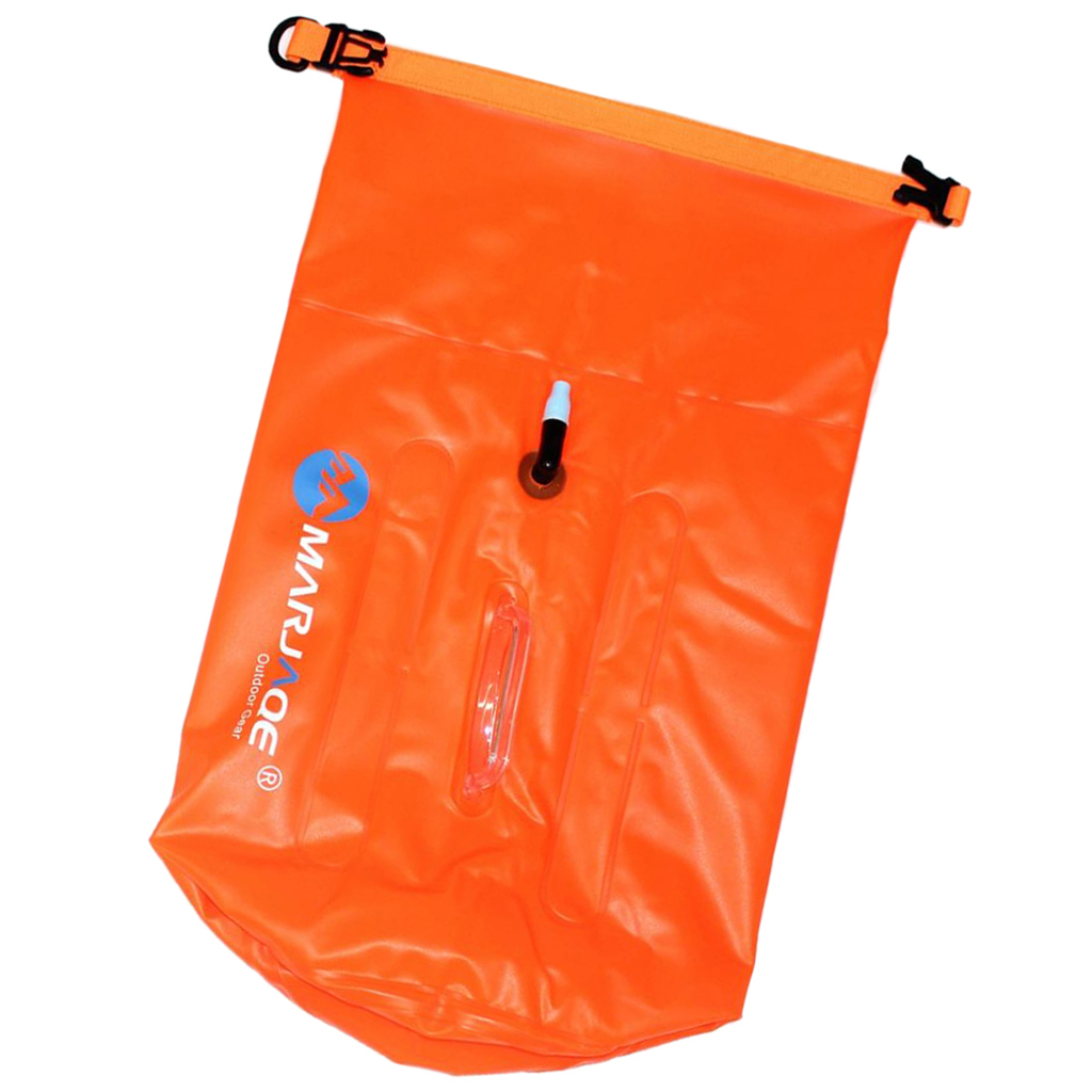 Perfeclan Waterproof PVC Dry Bags for Swimming Rafting Kayaking Canoeing- 20L Boating Surfing Boating Dry Bag Accessories