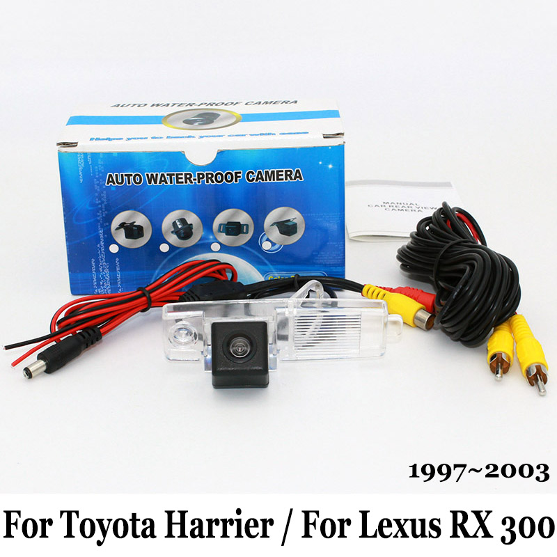 For Toyota Harrier / For Lexus RX 300 RX300 XU10 1997~2003 / RCA AUX Wire Or Wireless / HD CCD Night Vision Rear View Camera Lexus RX