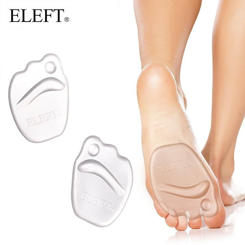 ELEFT Gel heel protector forefoot Pad Feet Silicone insoles inserts insoles for shoes slip pads insert for high heels women hot sale silicone gel comfort heel cups pads insoles inserts protect feet for men women