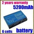 Jigu precio especial nueva 6 celdas 5200 mah batería para acer aspire 5610z 5610 5612 5650 5680 9110 9120 envío gratis