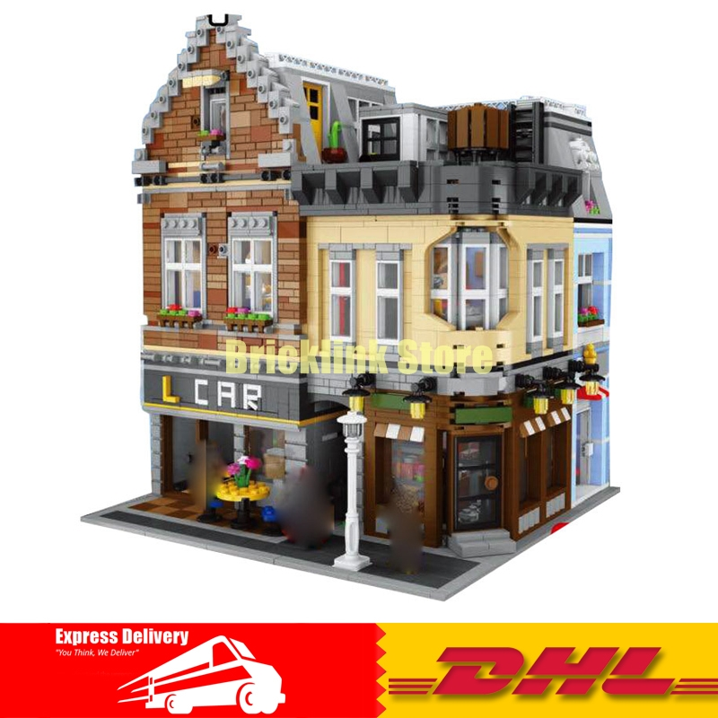 Have in Stock 2018 DHL LEPIN 15034 4210 PCS MOC The New Building City Set Building Blocks Bricks Toy Model As Christmas Gifts the new jjrc1001 lepin city construction series building blocks diy christmas gift for kid legoe city winter christmas hut toy