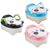 2016 New Cute Cartoon Baby Boys Girls Kids Potty Training Toilet Urinal Pee Trainer Baby Potties