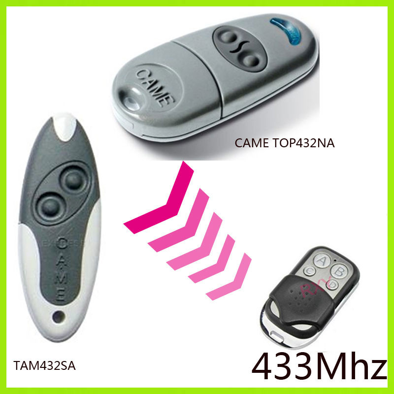 Duplicator CAME TOP432NA ,CAME TAM 432SA 433.92Mhz remote control (with battery) fixed code SJQ088A