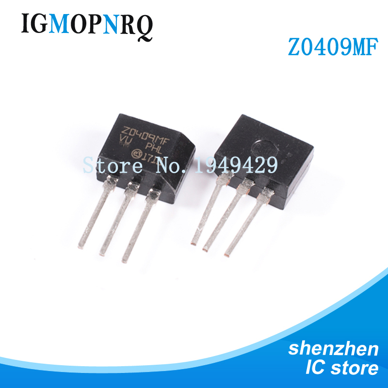 Free shippin 10pcs/lot ZO409MF <font><b>Z0409MF</b></font> TO-202 600V / 4A / 0.2W triac original authentic image