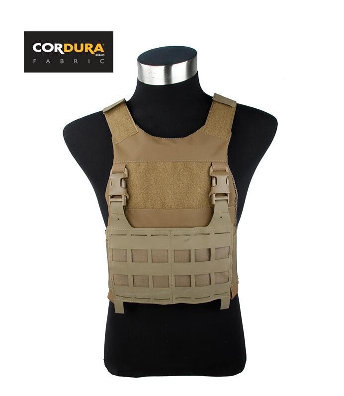 Cordura Coyote marron Style Freeo gilet militaire extérieur tactique profil bas (STG051219)