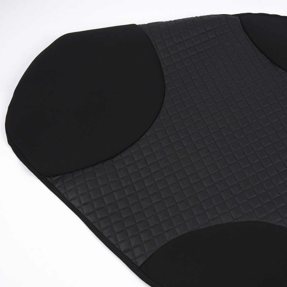 Чехлы Для Автомобильных Сидений  Универсальный Цвет Чёрный 1 шт Искусственные Кожа