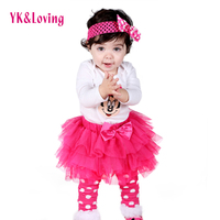 Girls Bodysuits Ruffle Tutu Baby Original Newborn Clothes Brand Sets Next Longsleeve Jumpsuit Leg Warmer Headband