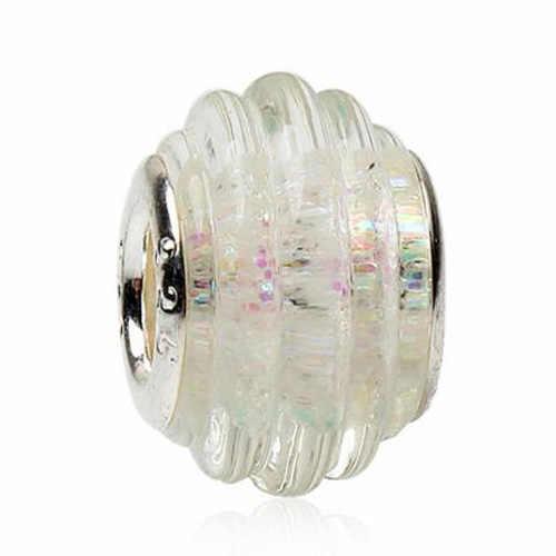 Populares largos de declaración, abanico de cristal, ojos malvados, alas de Ángel, estrellas, perlas simuladas, se ajustan a Pandora Charm, brazaletes originales DIY para mujeres