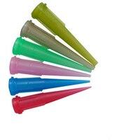 TT 14G 27G 1000pcs/bag Dispensing Needles Blunt Glue Liquid Dispenser Dispensing Needle Plastic Tapered Tips