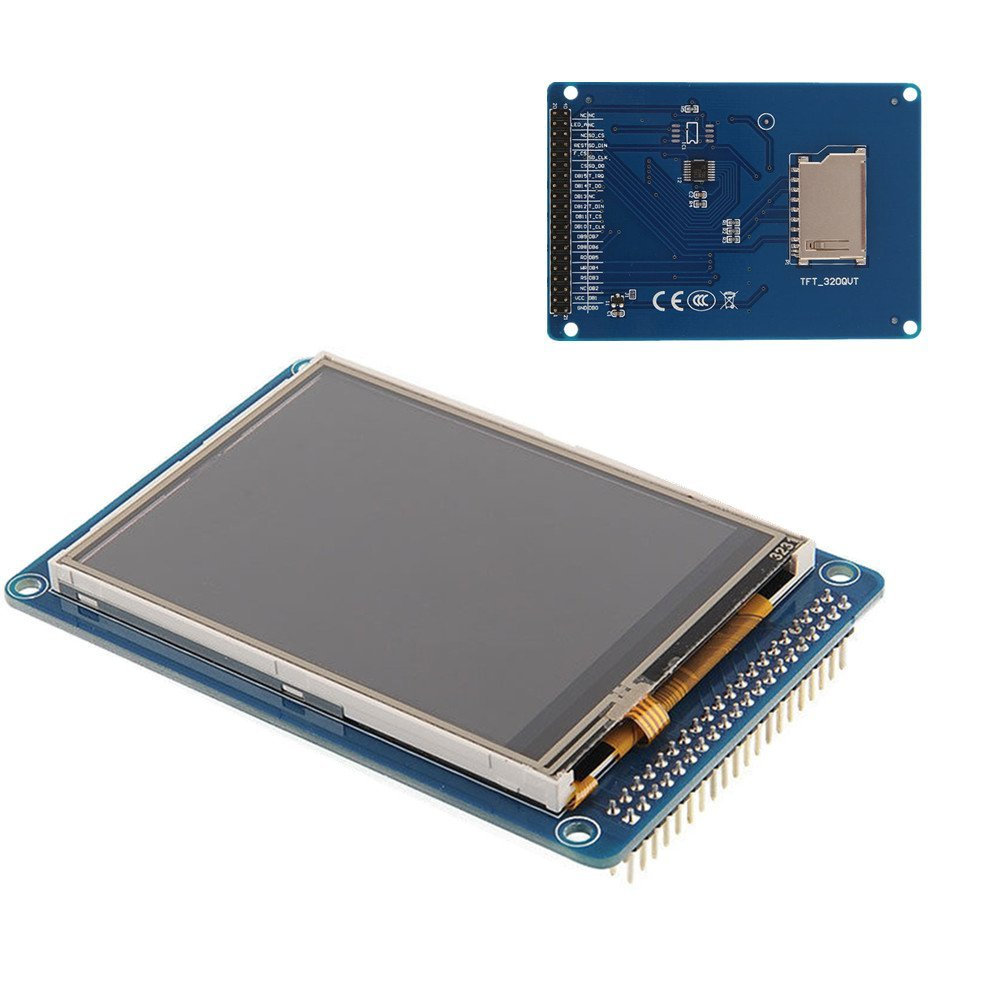 3.2 inch 240x320 TFT LCD Touch Screen Display Module panel with SD card for arduino ...