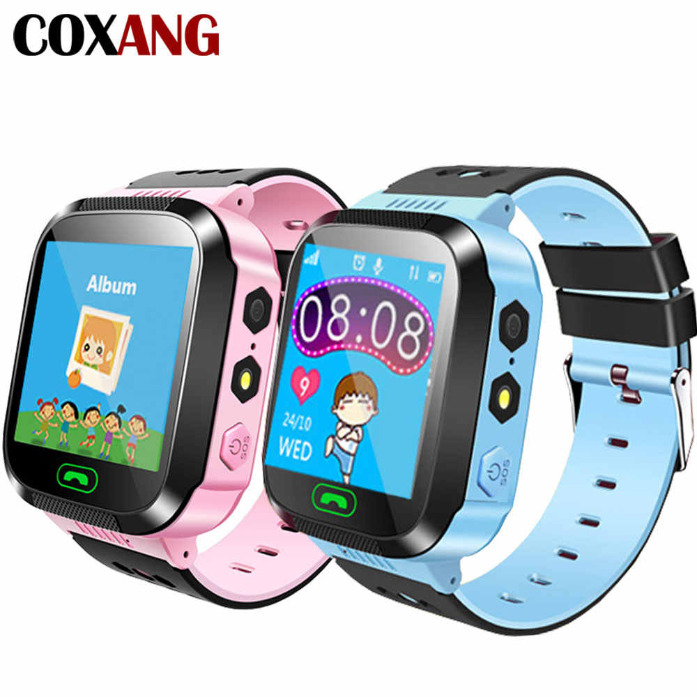 COXANG Smart Watch Q528  For Baby Children Kids Watch Phone SOS LBS Tracker SIM Card Dail Call Smart Clock Baby Child Smartwatch