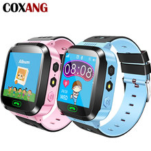 COXANG Smart Watch Q528  For Baby Children Kids Phone SOS LBS Tracker SIM Card Dail Call Clock Child Smartwatch
