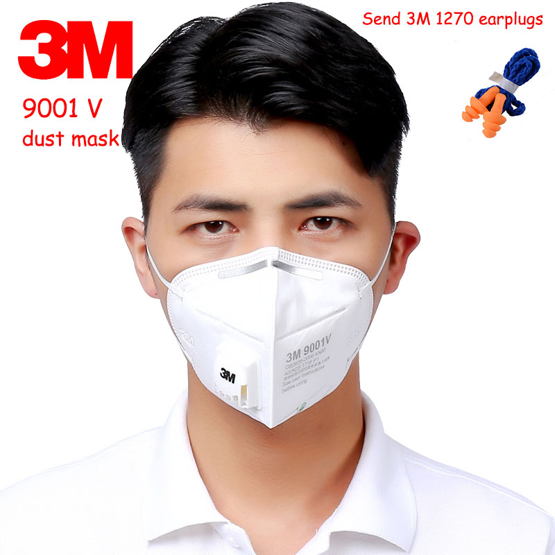 3m breathing respirator mask