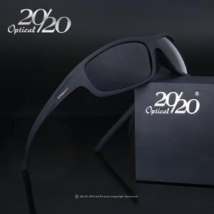 c47771d5c8 20 20 Optical Brand 2018 New Polarized Sunglasses Men Fashion Male Eyewear  Sun Glasses Travel Oculos Gafas De Sol PL66