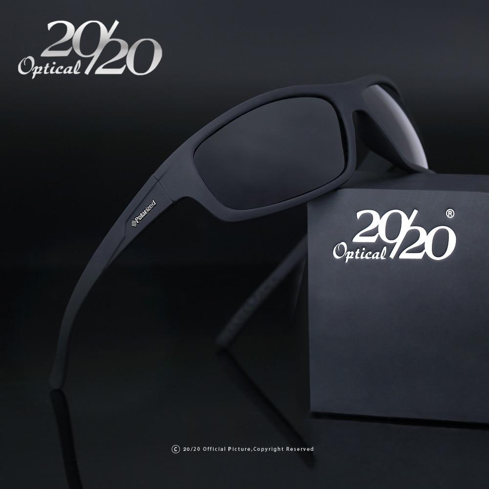 20/20 di Marca Ottici 2017 Nuovi Occhiali Da Sole Polarizzati Uomini Moda Maschile Occhiali Occhiali Da Sole Occhiali Viaggio Oculos Gafas De Sol PL66