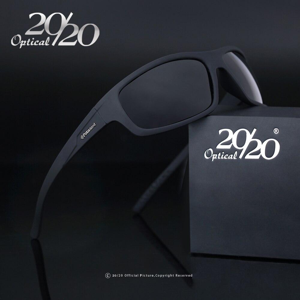20/20 di Marca Ottici 2018 Nuovi Occhiali Da Sole Polarizzati Uomini Moda Maschile Occhiali Occhiali Da Sole Occhiali Viaggio Oculos Gafas De Sol PL66