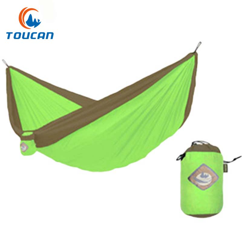 Strong Load Bearing Garden Hammock Portable Camping Hammock Multicolor Hanging  Chair Leisure Swing Breathable Travel