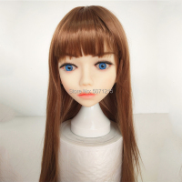 TPE Sex Doll Head Oral Sex Love Doll Lovely Face With Sexy Thick Lips for 135 176cm Body