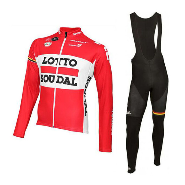 LOTTO Autumn Spring outdoor sport Men Cycling Jersey Set Long Sleeve Mtb  triathlon Cycling Clothing Ropa Ciclismo Cycling set 1ddf49f7b