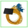 Hot Sales Communication Equipment Fiber Optic PLC Optical Splitter 1x32 with 1.5M Box Yellow SC/UPC for FTTH system