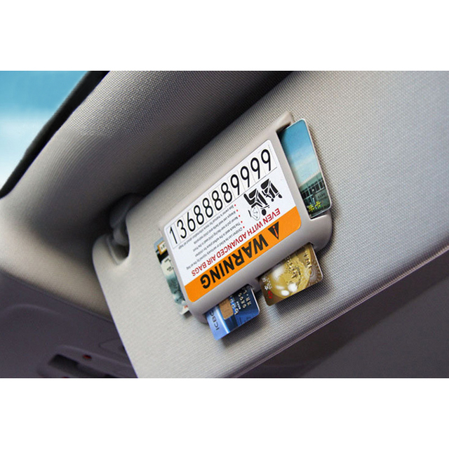 Encell Car Sun Visor Card Holder Number Charge High Speed Ic Card