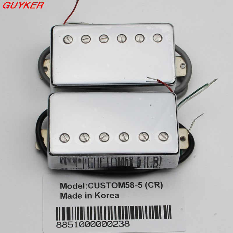 CUSTOM58-5 Humbucker gitara lp Pickup 5 linii CR