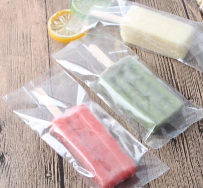 kitchen appliance store childrens toy ice pop bag popsicle packing 100pcs/lot size 7 x 18cm ...