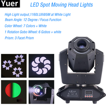 Disco Dj Light Equipment 75W Spot Moving Head Lights 14X0.2W RGBW  LEDs Club DJ Stage Lighting Party Disco Moving Heads Light chauvet dj intimidator spot 355z irc