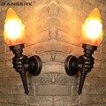 Наружный светодиодный настенный светильник  водонепроницаемый  ржавчина  освещение для крыльца  алюминиевое освещение  бра для сада  балко...