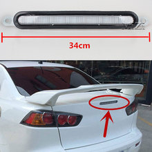 цена на For Mitsubishi Lancer EVO 08-10 High Positioned Mounted Additional 3rd Light Car LED Rear Brake Light Stop Lamp High Quality