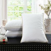 Peter Khanun marque Design blanc plume d'oie cou soins de santé literie oreiller 100% coton coquille permettre à la plume de respirer 008