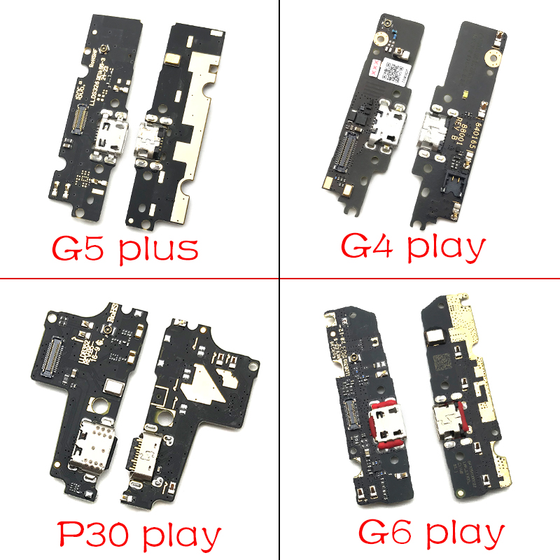 10Pcs/Lots USB Charging Port Dock Charger Plug Connector Board For Motorola Moto M E3 E4 E4T E5 G3 G4 G5 G6 P30 Play Plus X4