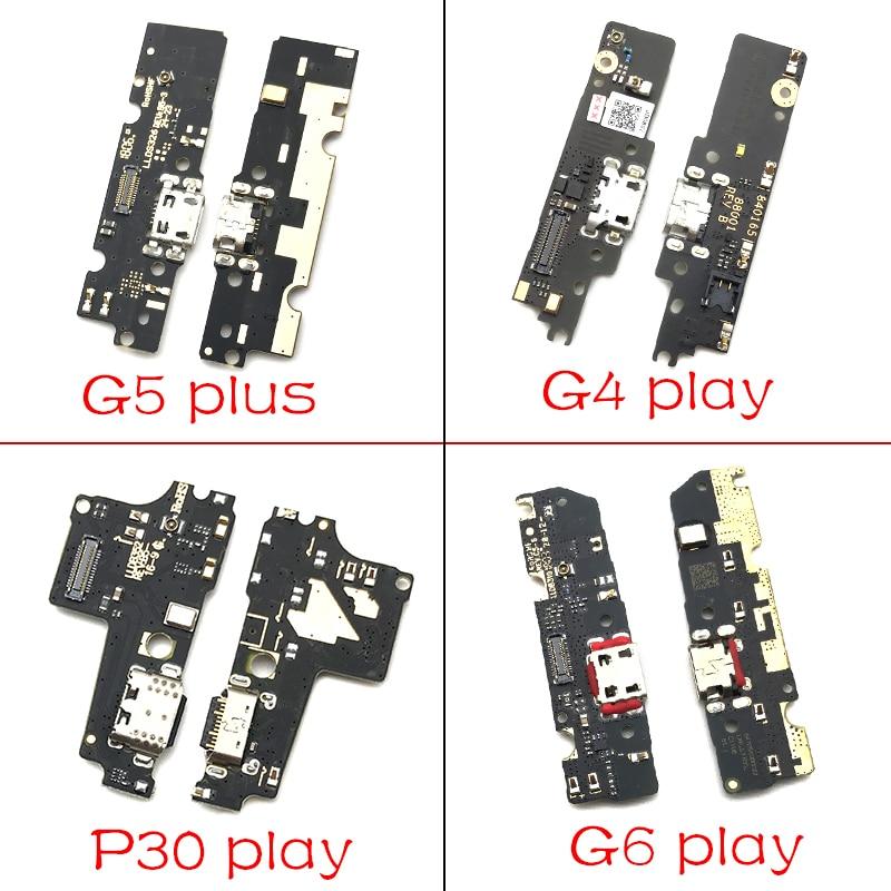 10Pcs/Lots USB Charging Port Dock Charger Plug Connector Board For Motorola Moto M E3 E4 E4T E5 G3 G4 G5 G6 P30 Play Plus X4