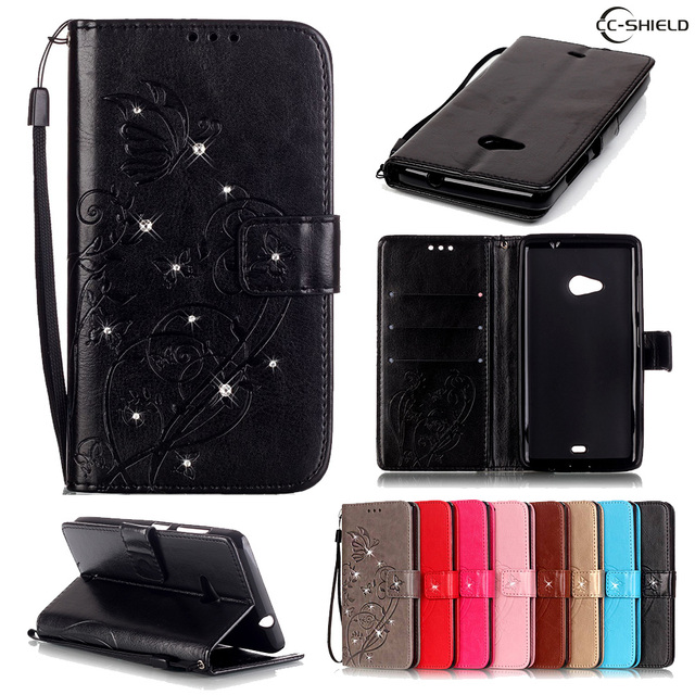 get cheap 599f3 88ae3 US $4.41 6% OFF|Magnetic Flip Case for Microsoft Nokia Lumia 535 Lumia535  RM 1090 RM 1089 RM1090 RM1090 RM 1090 1089 Leather Diamond Phone Case-in ...