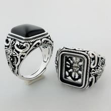 Men's 925 Sterling Silver Vintage Ring