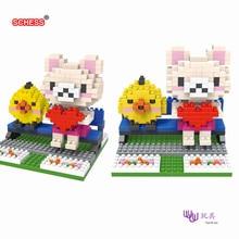 SC: Rilakkuma (Easily Bear) 1080 Diamond Micro Nano Building Blocks Action Figure boy & girl gifts