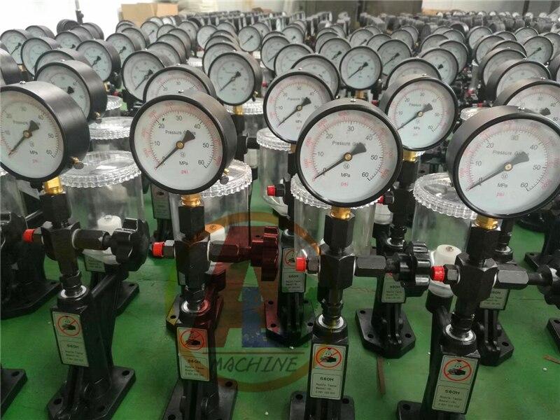 S60H diesel fuel common rail injector nozzle tester with metal base, common rail injector repair tools